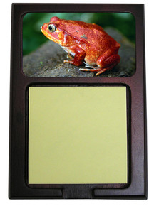 Tomato Frog Wooden Sticky Note Holder