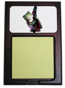 Tree Frog Wooden Sticky Note Holder