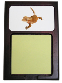 Gecko Wooden Sticky Note Holder