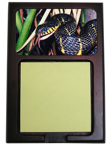 Mangrove Snake Wooden Sticky Note Holder