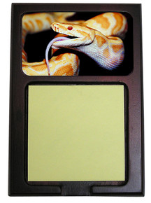 Python Snake Wooden Sticky Note Holder