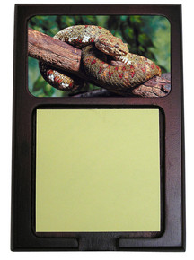 Viper Snake Wooden Sticky Note Holder