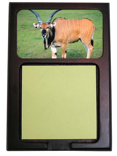 Eland Wooden Sticky Note Holder