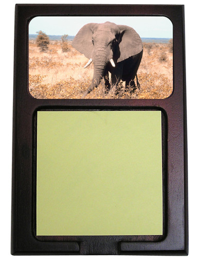 Elephant Wooden Sticky Note Holder