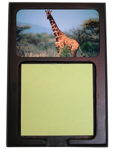 Giraffe Wooden Sticky Note Holder