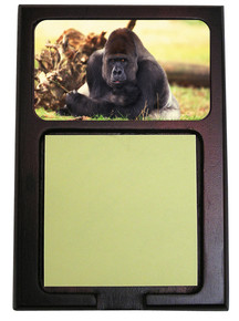 Gorilla Wooden Sticky Note Holder