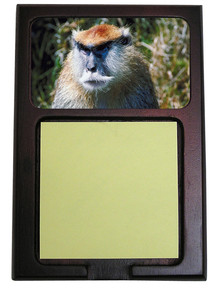 Monkey Wooden Sticky Note Holder