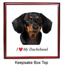Dachshund Keepsake Box