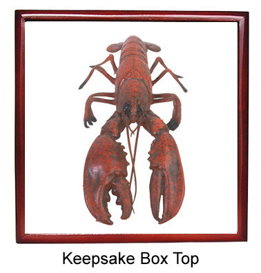 Lobster Keepsake Box