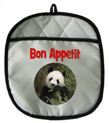 Panda Bear Pot Holder