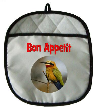 Bee Eater Pot Holder