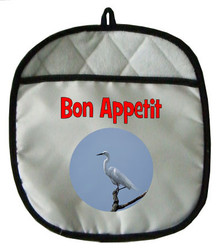 Egret Pot Holder