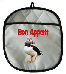 Atlantic Puffin Pot Holder