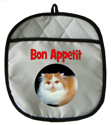Persian Cat Pot Holder