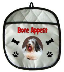 Bearded Collie Pot Holder
