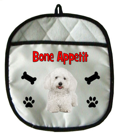 Bichon Pot Holder