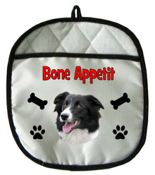 Border Collie Pot Holder