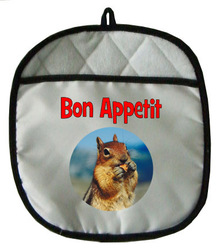 Chipmunk Pot Holder