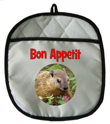Groundhog Pot Holder