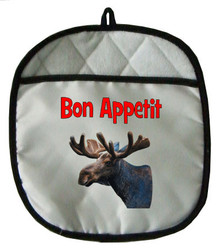 Moose Pot Holder