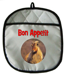 Mountain Goat Pot Holder