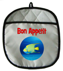Angelfish Pot Holder