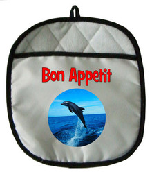 Dolphin Pot Holder