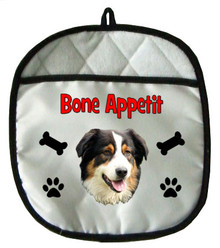 Australian Shepherd Pot Holder