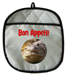 Alligator Pot Holder