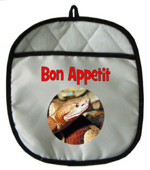 Copperhead Snake Pot Holder