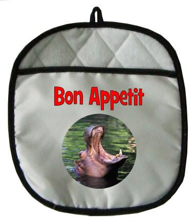 Hippo Pot Holder