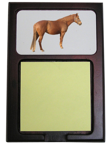Barb Wooden Sticky Note Holder