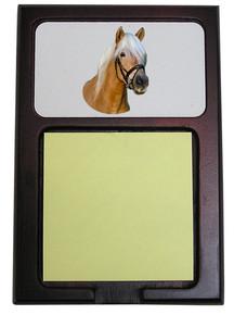 Haflinger Wooden Sticky Note Holder