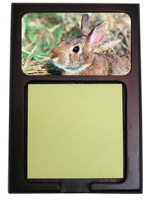 Rabbit Wooden Sticky Note Holder