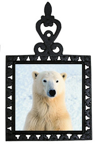Polar Bear Iron Trivet