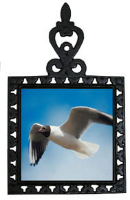 Black Headed Gull Iron Trivet