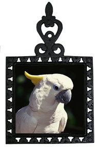 Cockatoo Iron Trivet