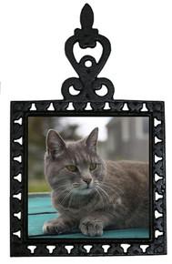 Cat Iron Trivet