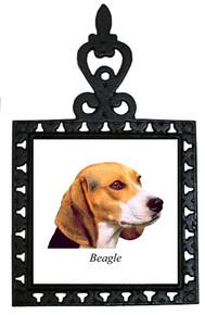Beagle Iron Trivet