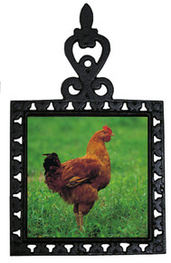 Chicken Iron Trivet
