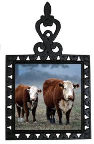 Cow Iron Trivet