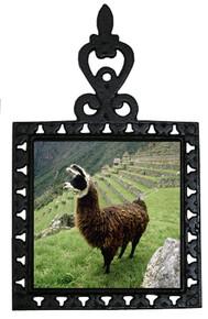 Llama Iron Trivet