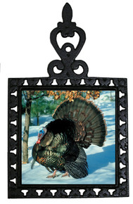 Turkey Iron Trivet
