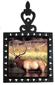 Elk Iron Trivet