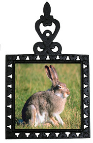 Rabbit Iron Trivet