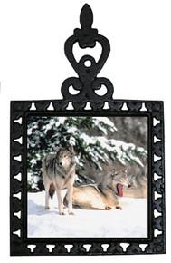Wolf Iron Trivet