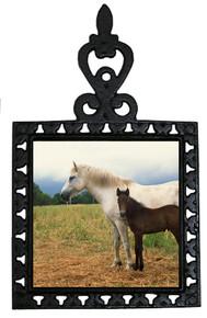 Horse Iron Trivet