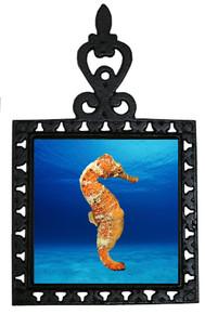Seahorse Iron Trivet