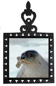 Seal Iron Trivet