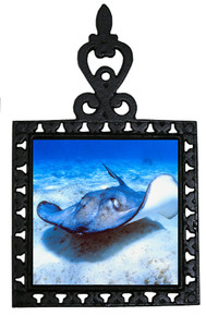 Stingray Iron Trivet